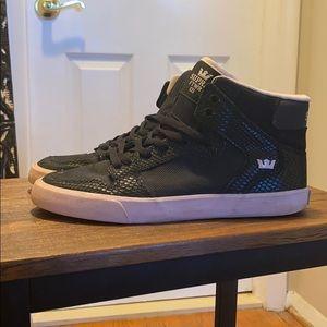 Supra Women's High Top Sneakers   Size 9 (worn)